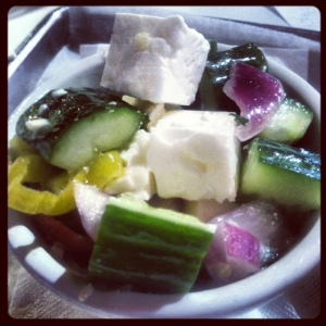 Side of Greek salad