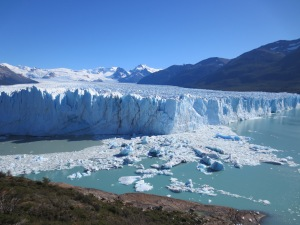 Glacier adventure in Argentina